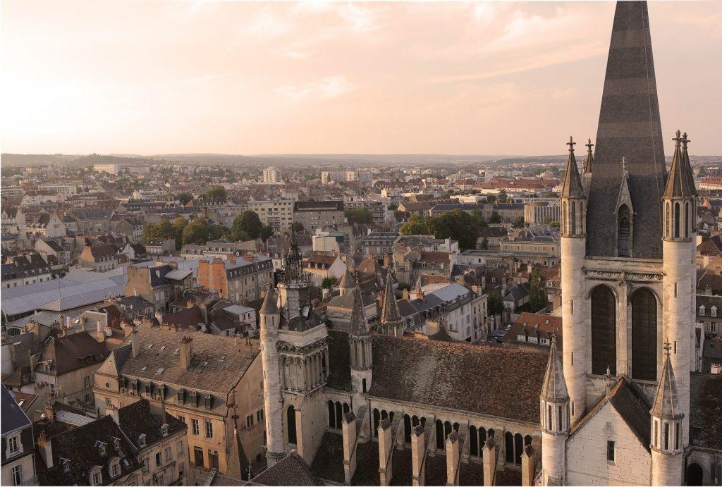 Dijon hoofdstad van Bourgondië
